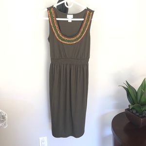 Motherhood Maternity Boho stretchy dress
